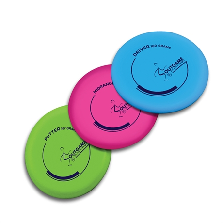 Disc Golf startset Outgame