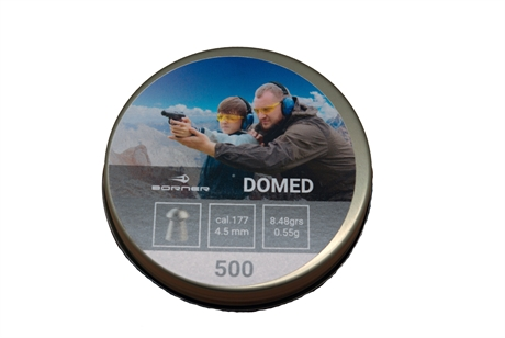 Luftvapenammunition Borner Domed 4,5mm.
