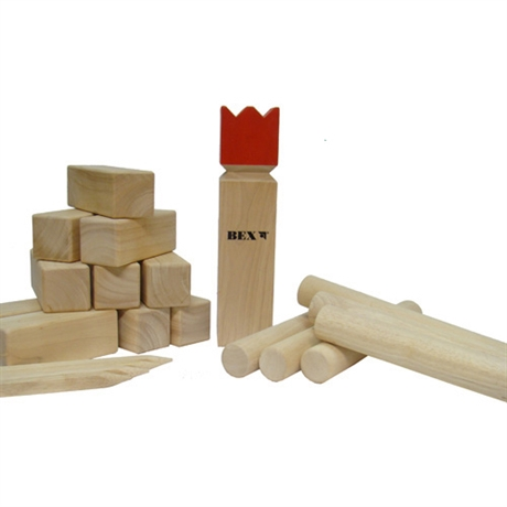 Kubb red King Bex
